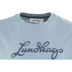 Lundhags Tee Niños, soft blue